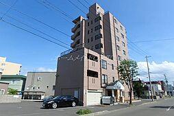 北海道札幌市東区北十六条東6丁目の賃貸マンションの外観