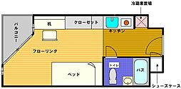 M&M横浜[408号室]の間取り