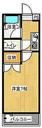アーク21[307号室]の間取り