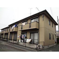 静岡県浜松市中区茄子町の賃貸アパートの外観
