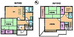 [一戸建] 東京都北区十条仲原4丁目 の賃貸【/】の間取り