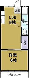 円藤ビル[5階]の間取り