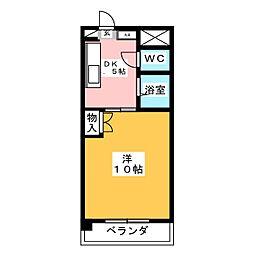 サン青山アネックス[3階]の間取り