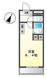 メゾンA4[3階]の間取り