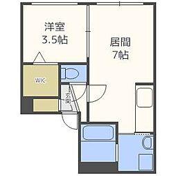 CASA N7[4階]の間取り