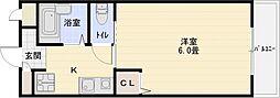 ルミネスハウス山下[3階]の間取り