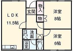 [一戸建] 愛知県安城市井杭山町一本木 の賃貸【/】の間取り