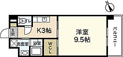 ルネス吉島[2階]の間取り