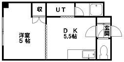ドマーニ16[406号室]の間取り