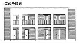 メゾンボヌール日新[1階]の外観
