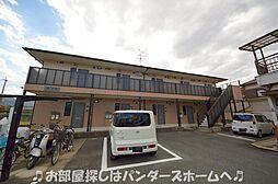 大阪府枚方市春日元町2丁目の賃貸アパートの外観