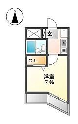 レントハウス[3階]の間取り