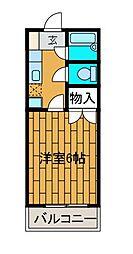 メゾンドールMURAKATA[1階]の間取り