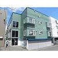 北海道札幌市豊平区平岸二条3丁目の賃貸アパートの外観