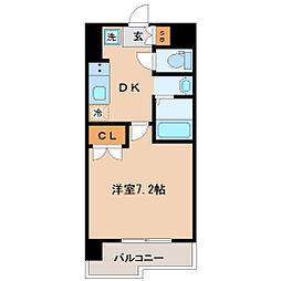 レジディア仙台原ノ町[7階]の間取り
