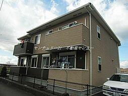 岡山県瀬戸内市長船町磯上の賃貸アパートの外観
