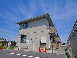 奈良県磯城郡田原本町大字十六面の賃貸アパートの外観
