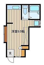 東京都練馬区南大泉4の賃貸アパートの間取り