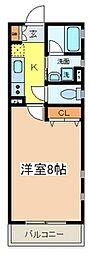 ORBITAL8(オービタルエイト)[1階]の間取り