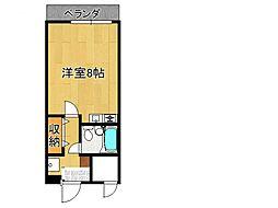 ロイヤルタケナカ[3階]の間取り