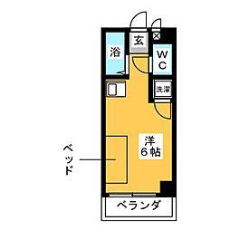 ドール六番町[8階]の間取り