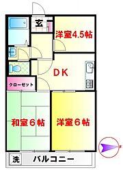 GSハイム武蔵関[3階]の間取り