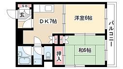 [タウンハウス] 愛知県名古屋市瑞穂区太田町3丁目 の賃貸【/】の間取り