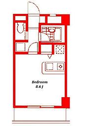 アンシャンテ大船[2階]の間取り
