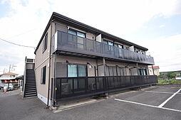 栃木県宇都宮市上御田町の賃貸アパートの外観