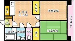 エトノ空港通り[901号室]の間取り