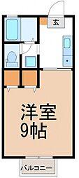 HIハウス[202号室号室]の間取り