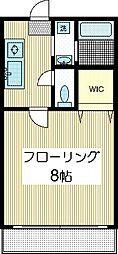 プランタンハイツ[1階]の間取り