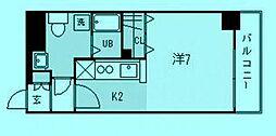 サンフォニー宮崎台[7階]の間取り
