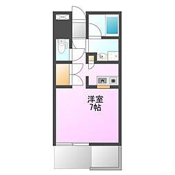 椚田マンション[2階]の間取り