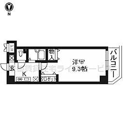 プラネシア星の子京都駅前[1001号室]の間取り