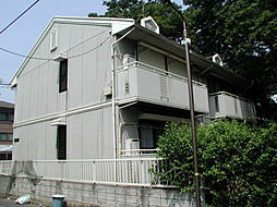 東京都練馬区田柄1丁目の賃貸アパートの外観