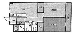 元町壱番館[502号室]の間取り