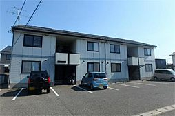 新潟県新潟市中央区大島の賃貸アパートの外観
