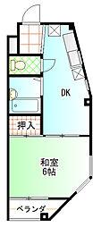 カーサカルム[3階]の間取り