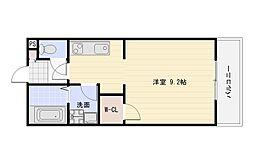 プログレ加美東[3階]の間取り