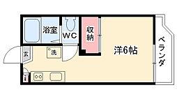 神奈川県相模原市南区御園1丁目の賃貸アパートの間取り
