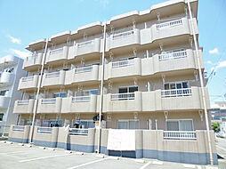 静岡県磐田市立野の賃貸マンションの外観