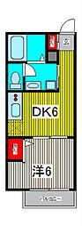 デイドリーム[2階]の間取り