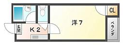 ラ・エトワール[2階]の間取り