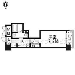 エステムプラザ東山邸405[4階]の間取り
