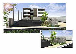 (仮)交野市シャーメゾン倉治[3階]の外観