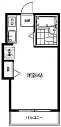 ペンシルハウス[2C号室号室]の間取り