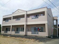 愛知県一宮市千秋町加茂字新出の賃貸アパートの外観
