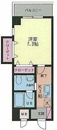 グリーン・ベル柿生[4階]の間取り