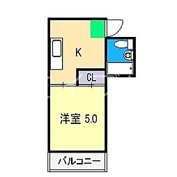 太陽舎ビル[3階]の間取り